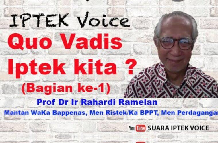 """Serial Dialog Iptek Voice ke-43 ; Bagian ke-1 ; YOUTUBE :""""SUARA IPTEK VOICE"""""""