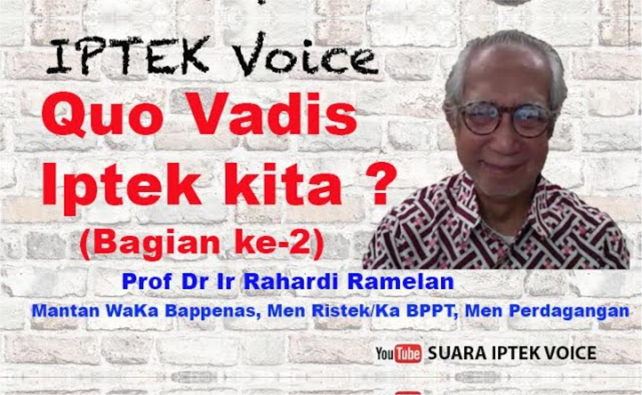 """Serial Dialog Iptek Voice ke 43 , Bagian ke-2 ; YOUTUBE : """" SUARA IPTEK VOICE"""""""